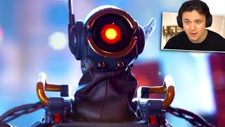 """Apex Legends - """"The Truth"""" Pathfinder's Story Reaction!"""