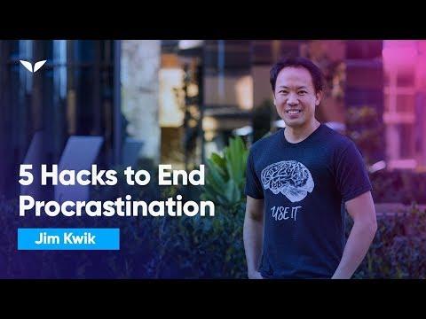 5 Science-Based Mental Hacks Will Make You Stop Procrastinating, Forever | Jim Kwik