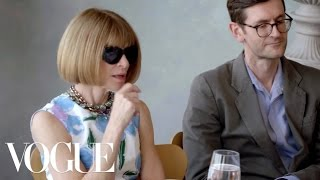 Contestants Pitch Their Designs to Anna Wintour and the Judges | Vogue