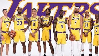 Lebron and the los Angeles lakers and the rest of the NBA Media day