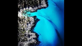 Drone  4K movie South Lake Tahoe relax music