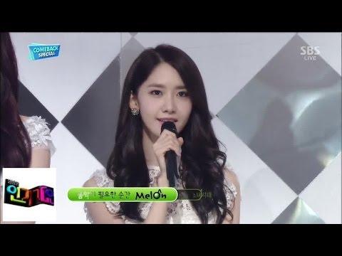 [소녀시대 Girl's Generation] - Back Hug @인기가요 Inkigayo 140309