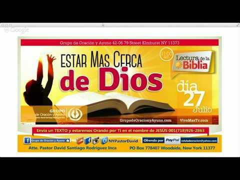 Josue 1, 2 y 3 / 2Corintios Capitulo 1 y 2 | Lectura de la Biblia