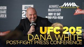 UFC 205 Post-Fight Press Conference: Dana White