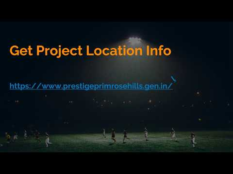 Prestige Primrose Hills Property for Sale