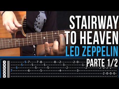Baixar Stairway To Heaven - Led Zeppelin (aula de guitarra - part 1/2)