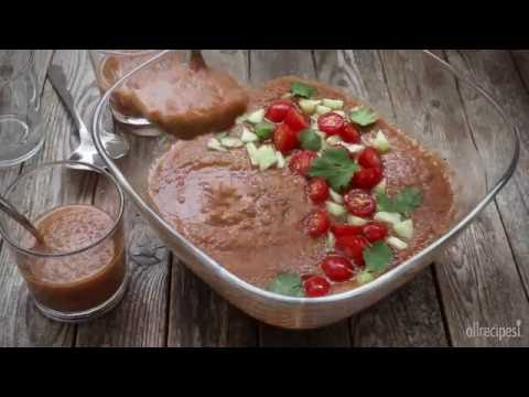 Soup Recipes - How to Make Gazpacho