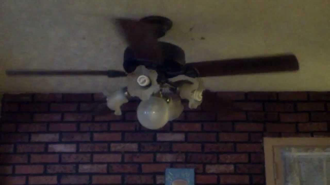 52 Quot Hampton Bay Farmington Ceiling Fan Youtube