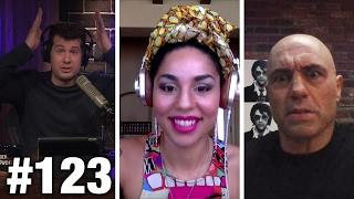 #123 WEED FIGHT! Joe Rogan and Joy Villa | Louder With Crowder