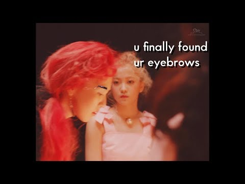 one of these nights but wendy has eyebrows