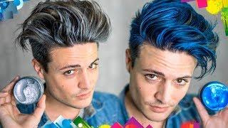 Does Hair Coloring Wax Work? | Testing Viral Hair Products | Mens Hair 2017