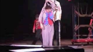 "David Larible and Kevin Venardos in ""Ringmaster's Revenge"""