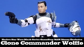 Star Wars Black Series Clone Commander Wolffe Hasbro Review