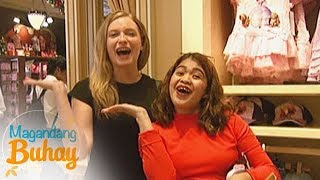 Magandang Buhay: Momshie Melai enjoys the company of their foreigner fan