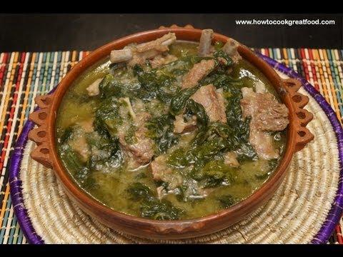 Ethiopian Food - Lamb & Spinach recipe Gomen be Sega ... | 480 x 360 jpeg 48kB