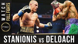 Stanionis vs DeLoach FULL FIGHT: November 4, 2020 - PBC on FS1