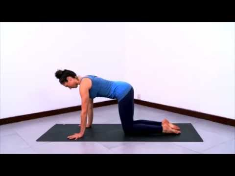 therapeutic yoga sequence for neck  shoulder tension adv