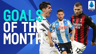 Rebic, Morata, Mertens and more! | Goals of the month | April 2021 | Serie A TIM