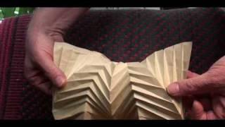 Hyperbolic Origami