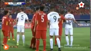 Trận đấu giữa U20 Việt Nam & U20 New Zealand  ( ngày 22.5.2017)
