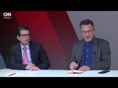 Αντιλογίες: Κ. Αρβανίτης και Δ. Καιρίδης στο στούντιο του CNN Greece