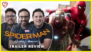 Spider-Man: Homecoming Official Trailer #1 Review