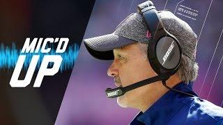 Chuck Pagano Mic'd Up vs. Bears (Week 5, 2016) | Sound FX | NFL Films