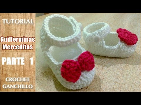 Crochet Tutorial Zapatitos Escarpines Abril Parte 1 Review Ebooks