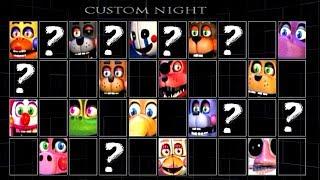 Five Nights at Freddy's 6 CUSTOM NIGHT!! FNAF 6 40/20 MODE (NEW Update)