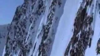 Snowboard à la verticale....