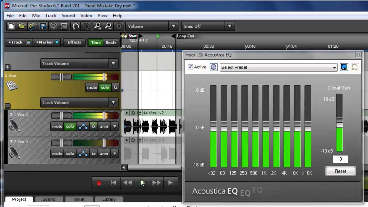 Acoustica com free download