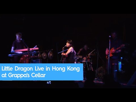 Little Dragon Live in Hong Kong at Grappa's Cellar - 7th August 2009