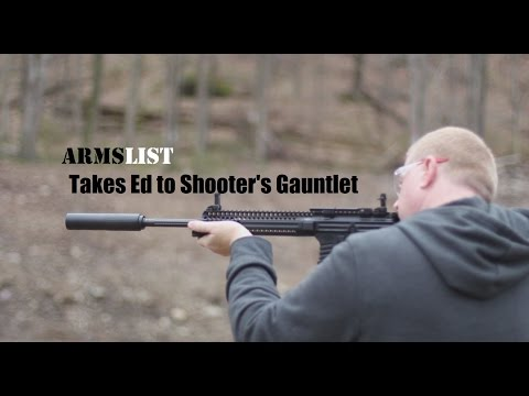 Ed, a Christmas Contest Winner and his experience at Shooter's Gauntlet