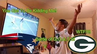 Packer vs Patriots Reaction! (Great Game!)