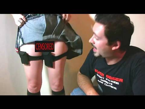 Short Skirt No Pockets Also No Panties Youtube