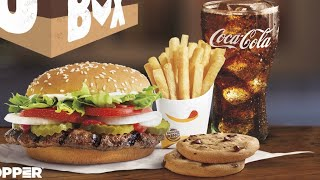 Is Burger Kings $6 King Box worth the money value meal review