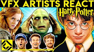 VFX Artists React to HARRY POTTER Bad & Great CGi