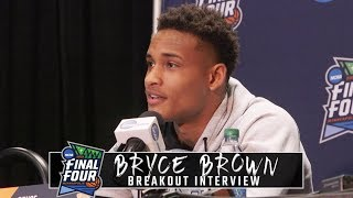 Auburn's Bryce Brown previews Virginia game at Final Four