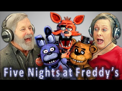 ELDERS REACT TO FIVE NIGHTS AT FREDDY'S