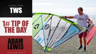 1# TIP OF THE DAY - Adam Lewis - leaving your kit on the beach for the next session