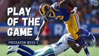 Tony Pollard's Touchdown Drive | Play of the Game | Film Room