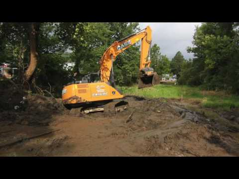 Centreville Dam Removal with Mabey Temporary Roads