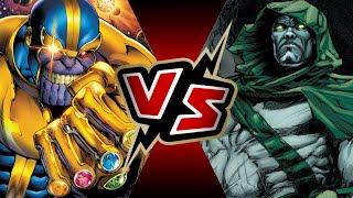 Thanos with the Infinity Gauntlet VS Spectre   BATTLE ARENA