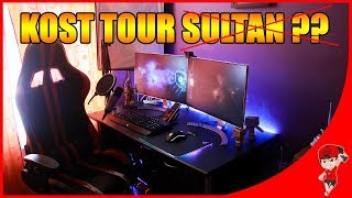 ROOM TOUR GAMING (KOST Tour) 2018 R Gamer Indonesia