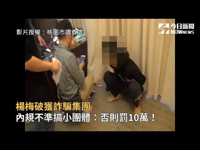 影/楊梅破獲詐騙集團 內規不準搞小團體:否則罰10萬!