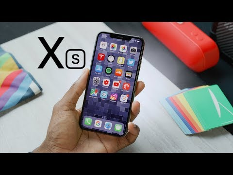 video Apple iPhone XS