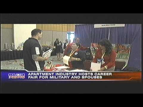 MILITARY CAREER FAIR  KUSI TV  6/19/13 10pm