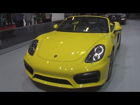 Porsche Boxster (2015) Exterior and Interior in 3D