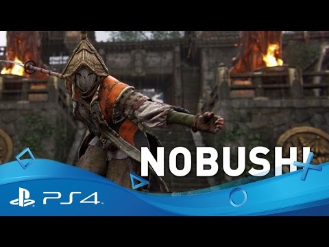 For Honor | Nobushi-samurai-trailer | PS4