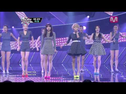 써니힐_만인의 연인 (Darling of All Hearts by Sunny Hill@M COUNTDOWN 2013.6.20)